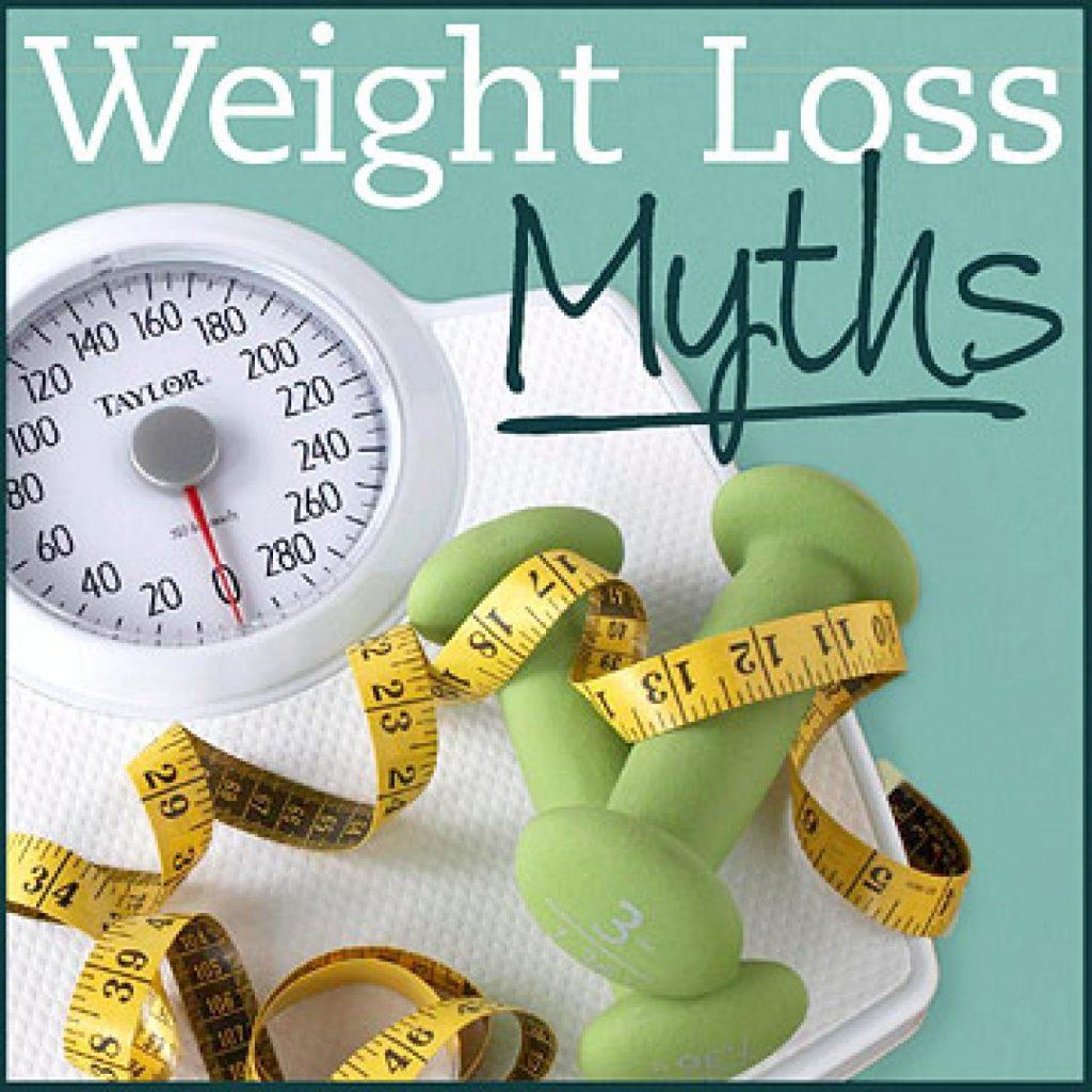 5 μύθοι για την μείωση του σωματικού βάρους και λίπους