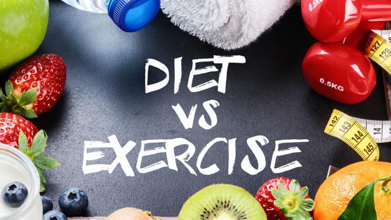 Άσκηση ή Διατροφή;