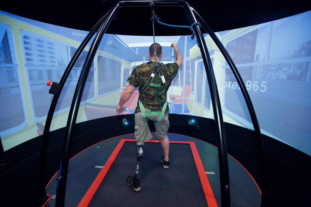 Virtual reality rehabilitation