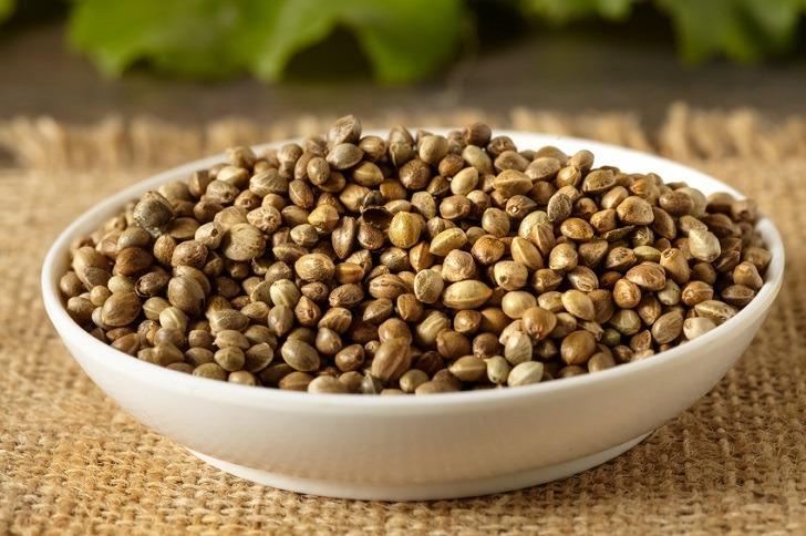 Σπόροι Hemp: Κορυφαία πηγή φυτικής πρωτεΐνης.